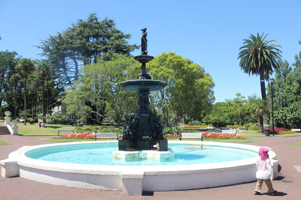 Water fountains auckland - It Wasn T A Long Trip But I Enjoyed Seeing A Little More Of New Zealand Auckland Is A City Of Volcanic Hills Waterside Views And Pedestrian Traffic