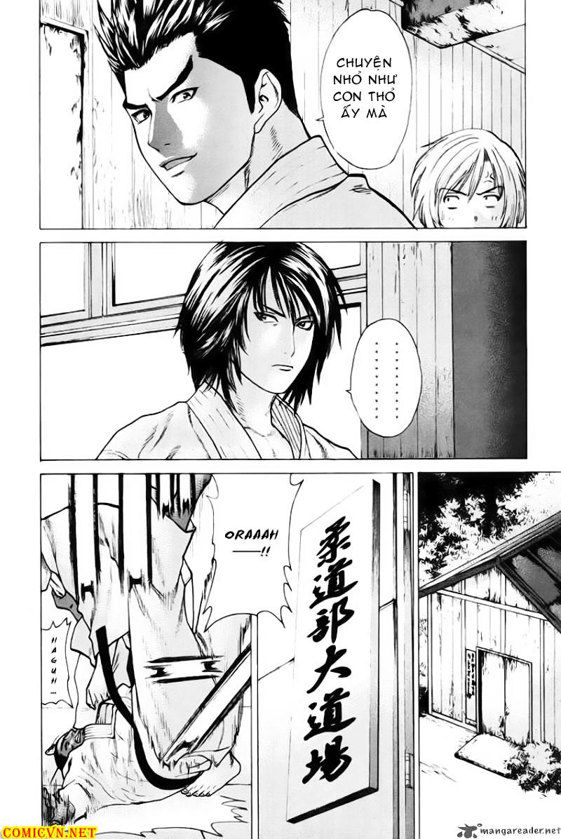 Karate Shoukoushi Kohinata Minoru chap 37 Trang 15