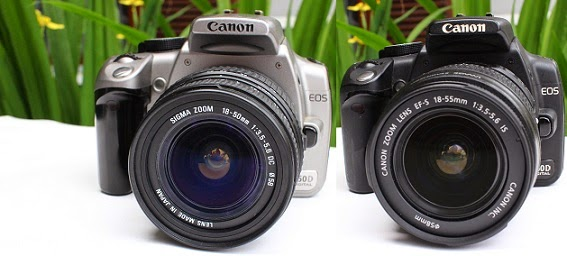 jual canon eos 350d second