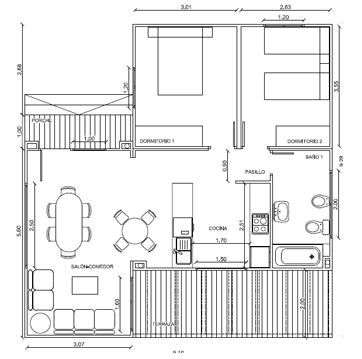 Planos de casas de madera prefabricadas 75 m2 planos de - Planos de casas de madera gratis ...