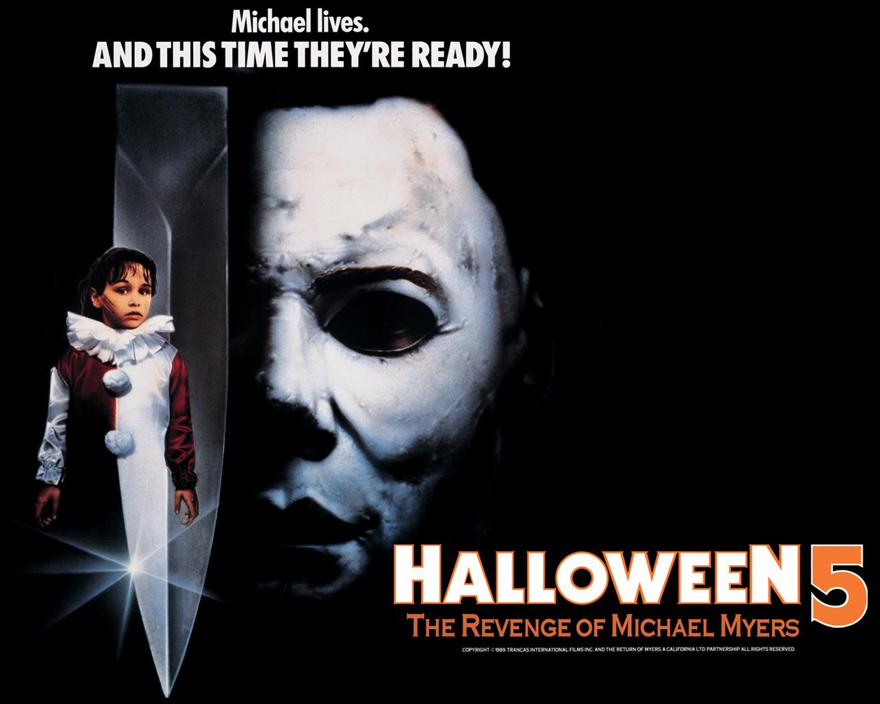halloween 5 the revenge of michael myers 1989 horror film review - Halloween Video Game Michael Myers