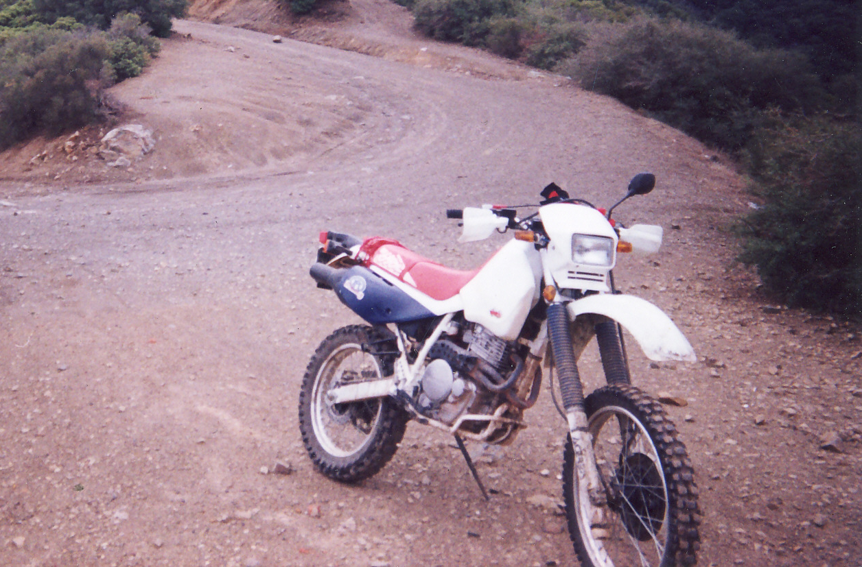 Greasy Hands and Busted Knuckles  90s Honda XR650L