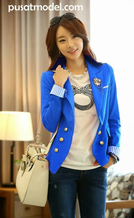 Fashion Model Baju Korea Terbaru Gambar Model Baju Batik