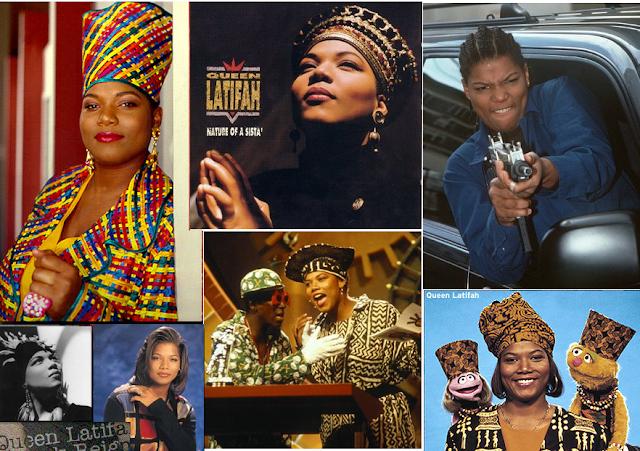 Queen Latifah no início da carreira
