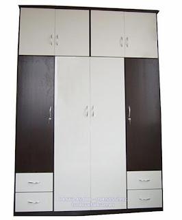 Tủ nhựa Đài Loan 4 buồng 4 cánh 4 ngăn C022