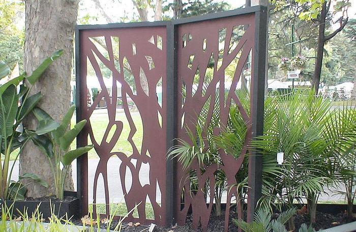puertas para jardines