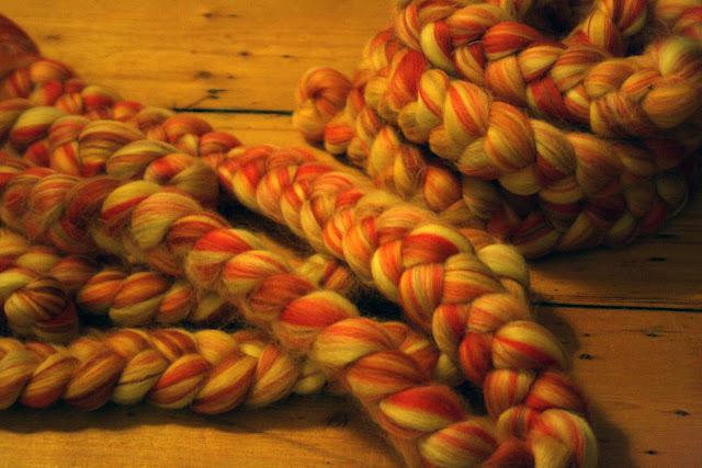 prettiest merino fibre ever :o  @owlprintpanda.blogspot.co.uk