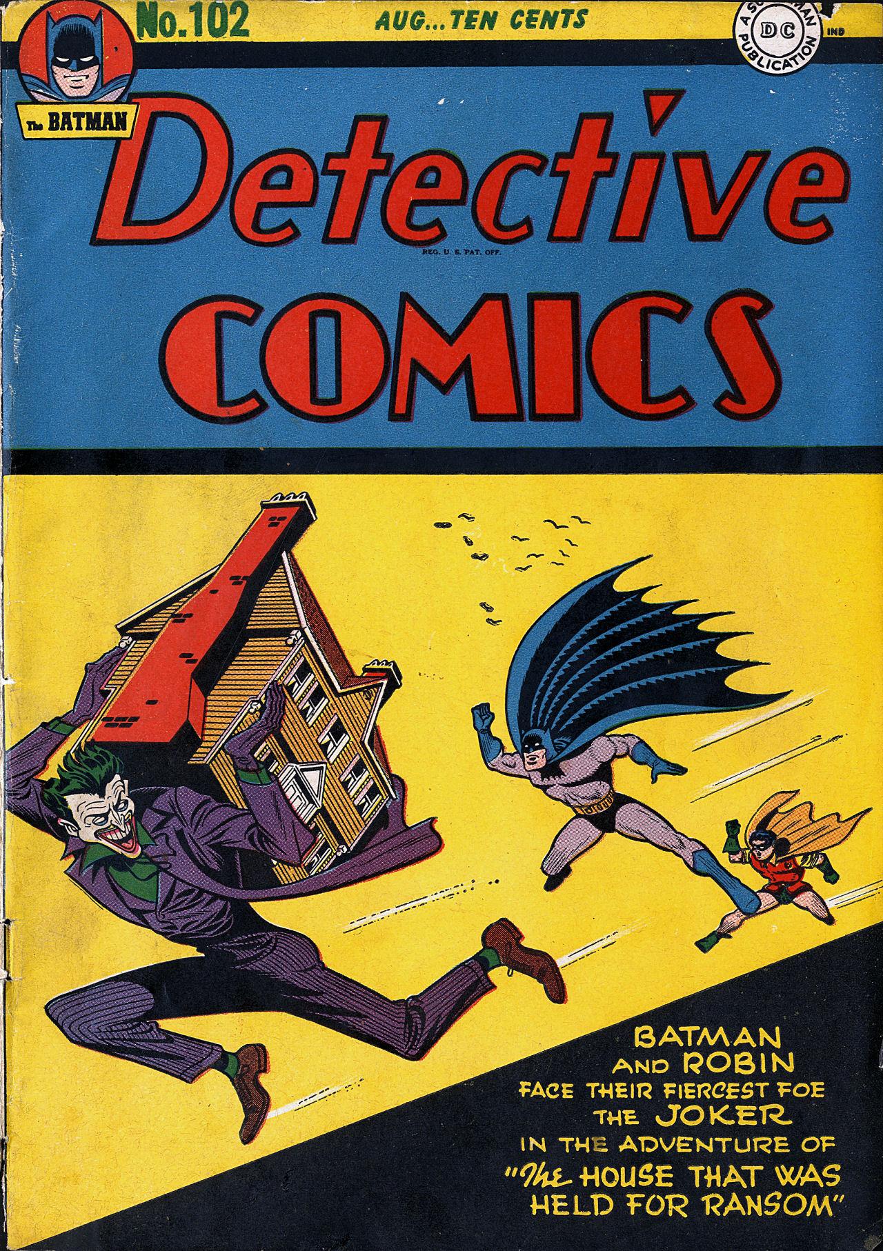 Detective Comics (1937) 102 Page 1