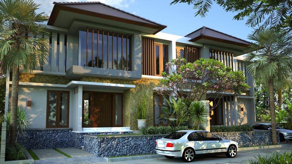 gambar desain rumah 7 desain rumah villa idaman yang