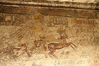 Royal Chariot at Amarna