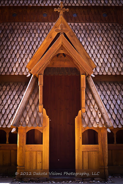Stavekirke Chapel in Rapid City SD Black Hills by Dakota Visions Photography LLC www.dakotavisions.com