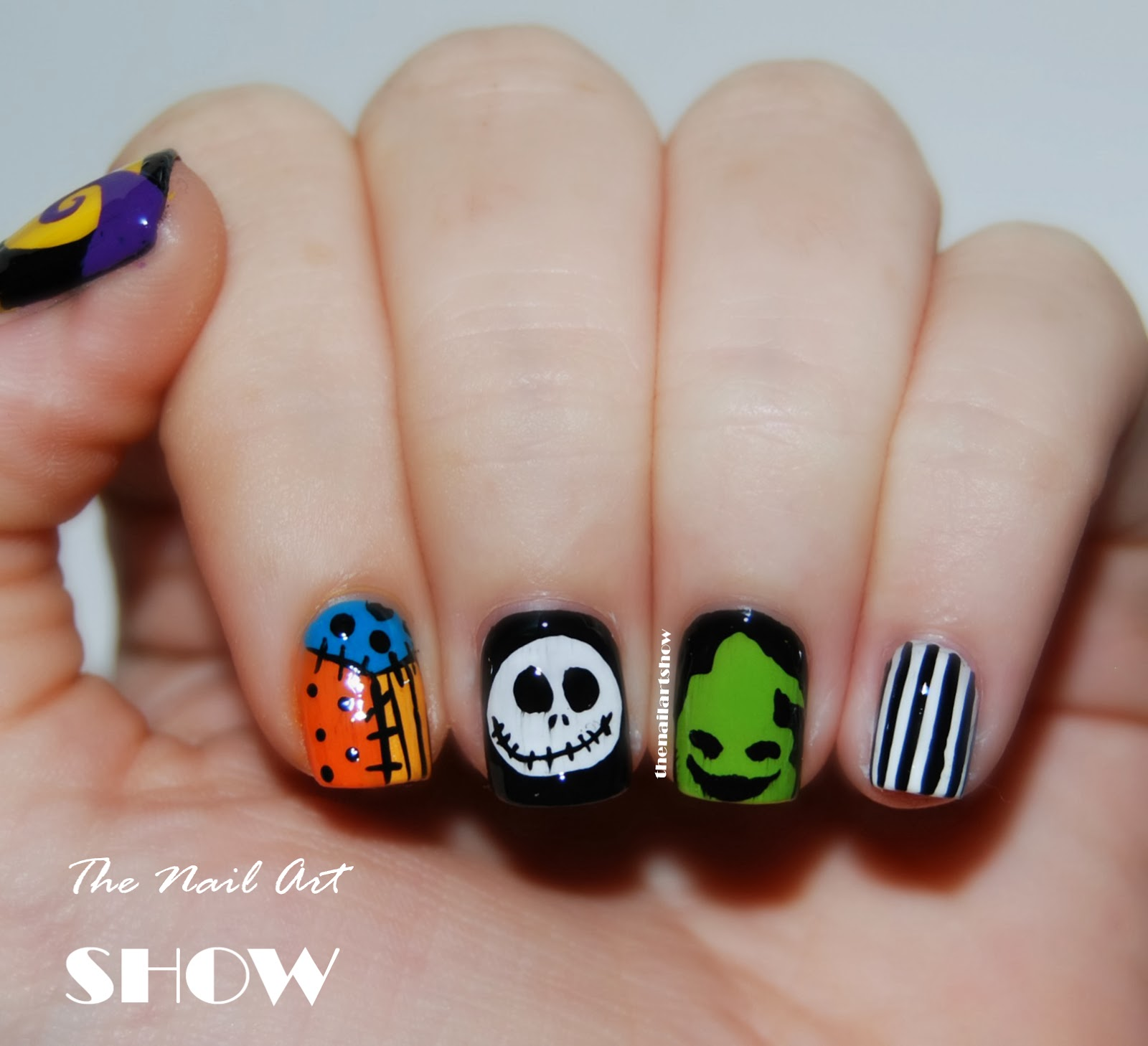 The Nail Art Show Scream This Is Halloween