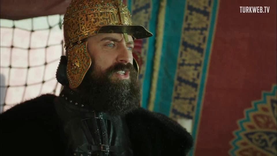 Halit Ergenc in rolul Suleyman Magnificul - episodul 98