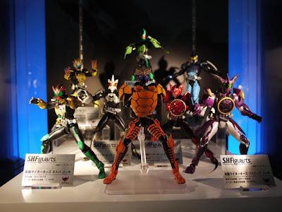 S.H.Figuarts Kamen Rider 000 CoraKaWani Combo