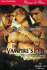 Seducing the Vampire's Pet by Pixie Storm