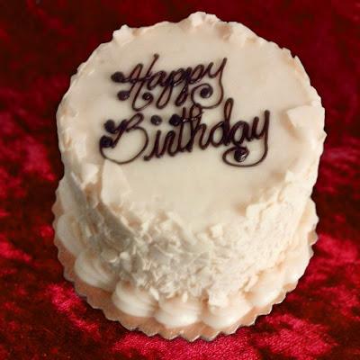 Beautiful Red Velvet Birthday Cake