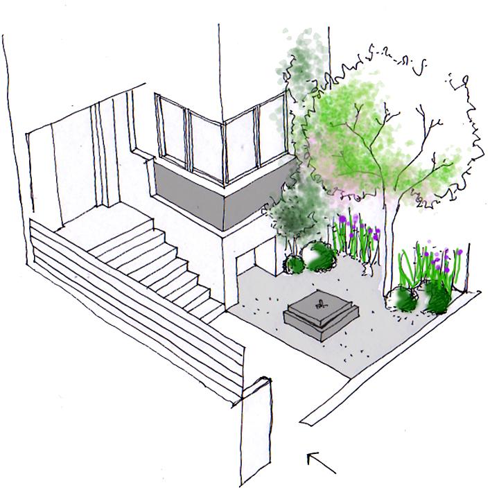Missjardin dibujar jardines ideas for Proyecto jardineria