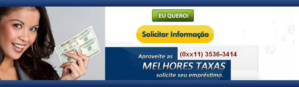 11 3536-3414 Empréstimo Consignado Prefeitura de São Paulo