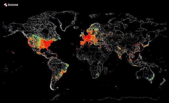 """gadgets across the world mapped by locations"""