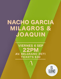 Nacho García, Milagros & Joaquín
