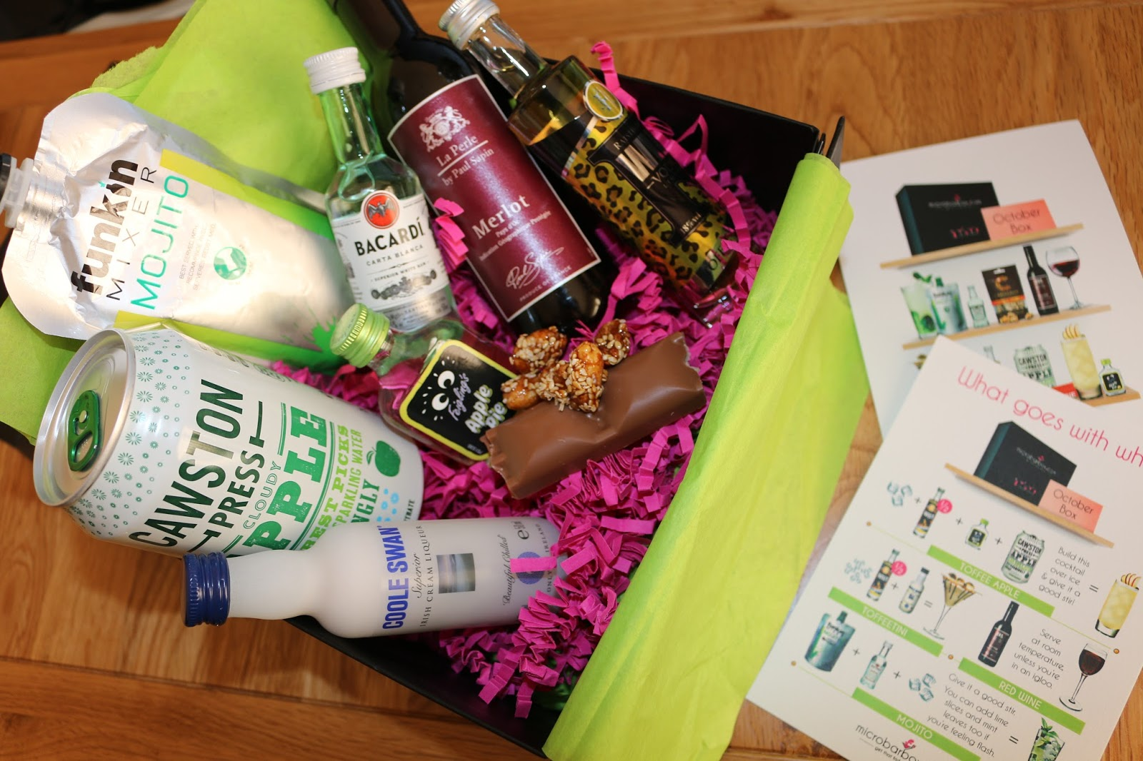 Microbarbox Alcohol Gifts and Subscription boxes