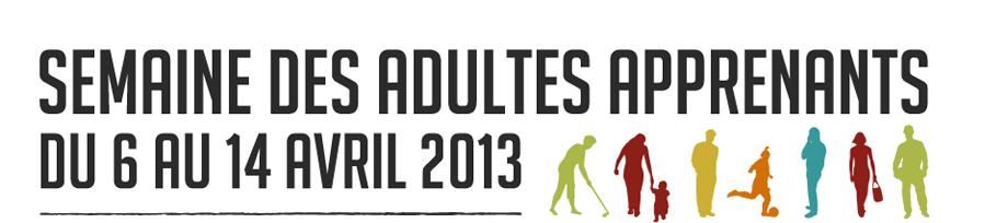 La semaine des adultes apprenants 2013