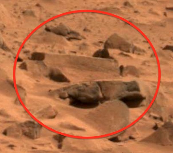 UFO SIGHTINGS DAILY: Ancient Site On Mars, Rover Photo ...