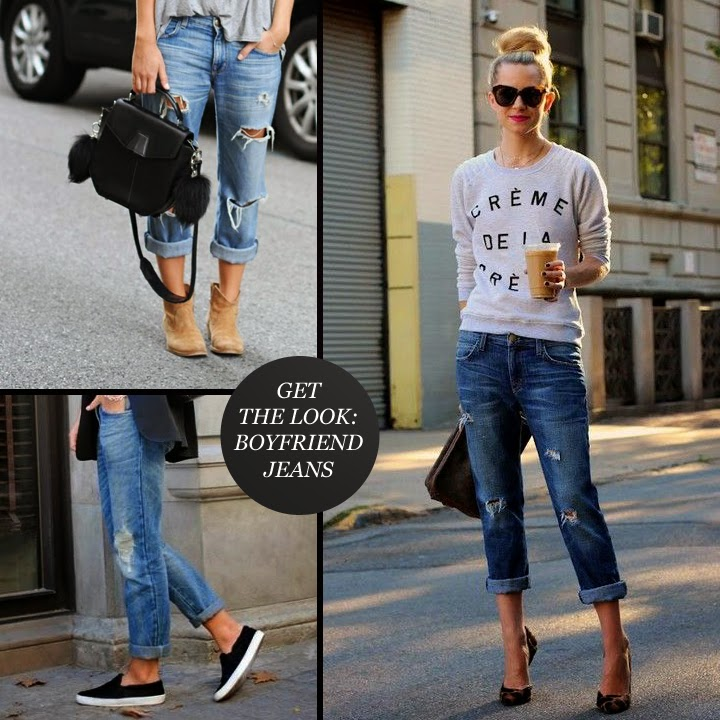 Boyfriend jeans can look very flattering on pear shaped ladies. Like you and on ALL my jeans, I like the waist low slung. I actually do not like wearing high rise jeans at all.