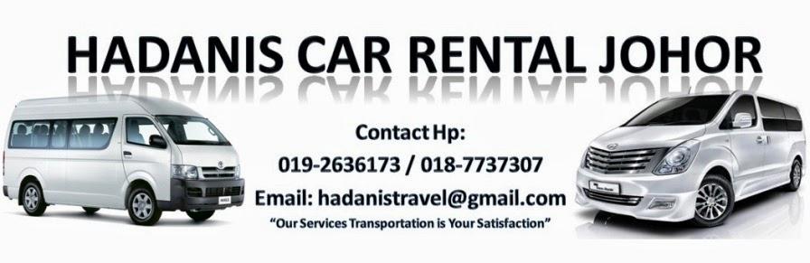 .:Hadanis Car Rental JB:.