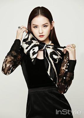 Kim Yoon Hye - InStyle Magazine November Issue 2013