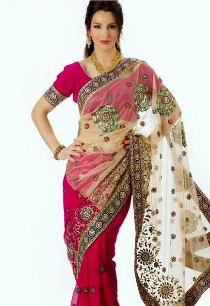 Royal Saree Designs for Evening Parties