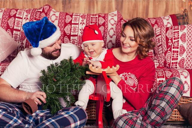 новый год в кругу семьи фотосессия