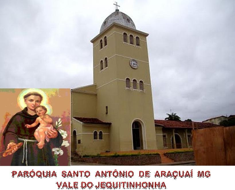 CATEQUISTAS PARÓQUIA SANTO ANTÔNIO ARAÇUAÍ MG
