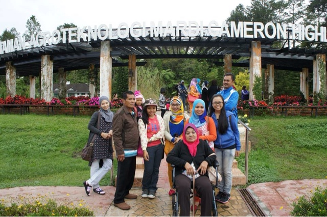 Famille @ Cameron Highland