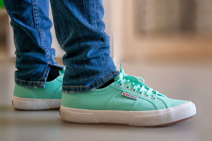 superga color menta