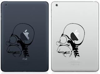50 Cool Stickers Designs of Apple New iPad Mini