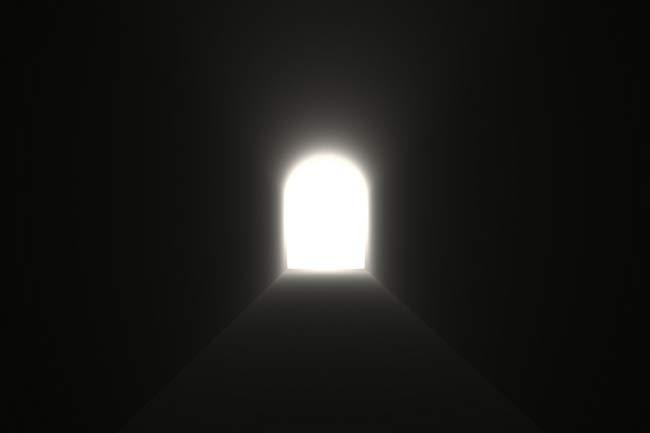 tunelul dintre viata si moarte