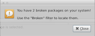 Two broken package linuxmint13 xfce