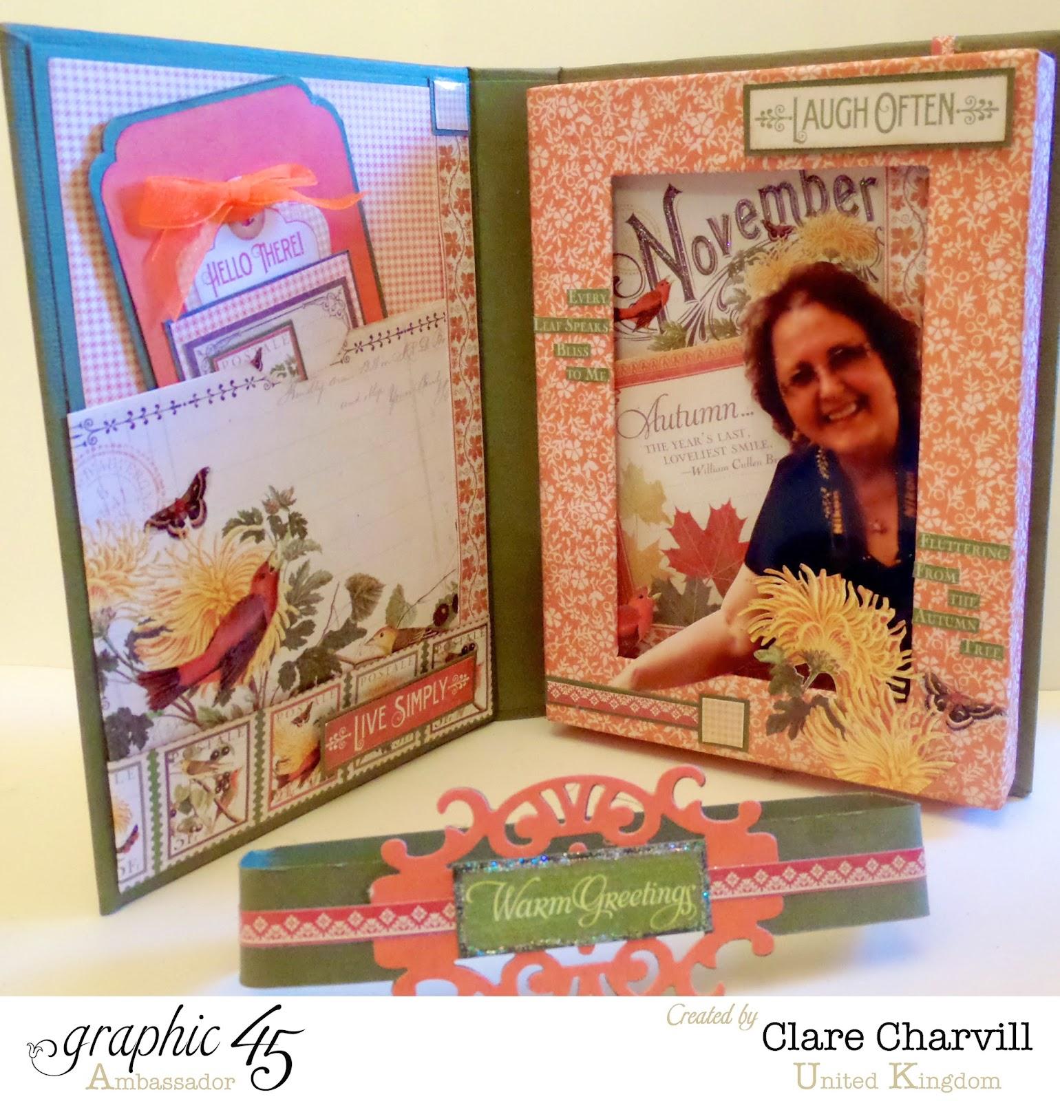 Time to Flourish Photo Box 2 Clare Charvill Graphic 45