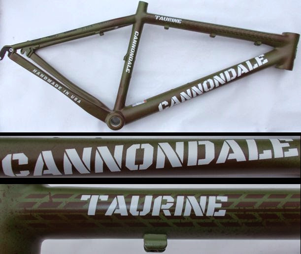 cannondale taurine army