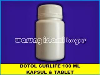Jual Botol Kapsul HDPE