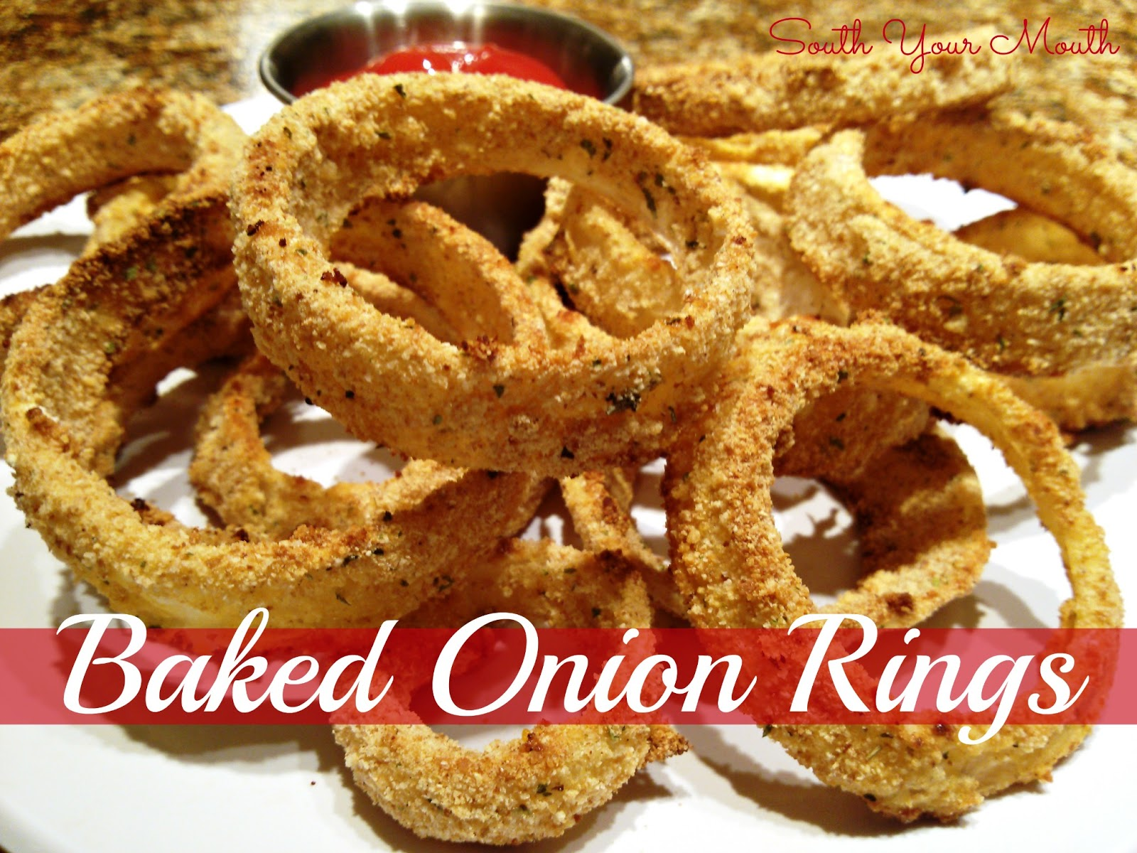baked onion rings 2 3 large onions sliced into rings