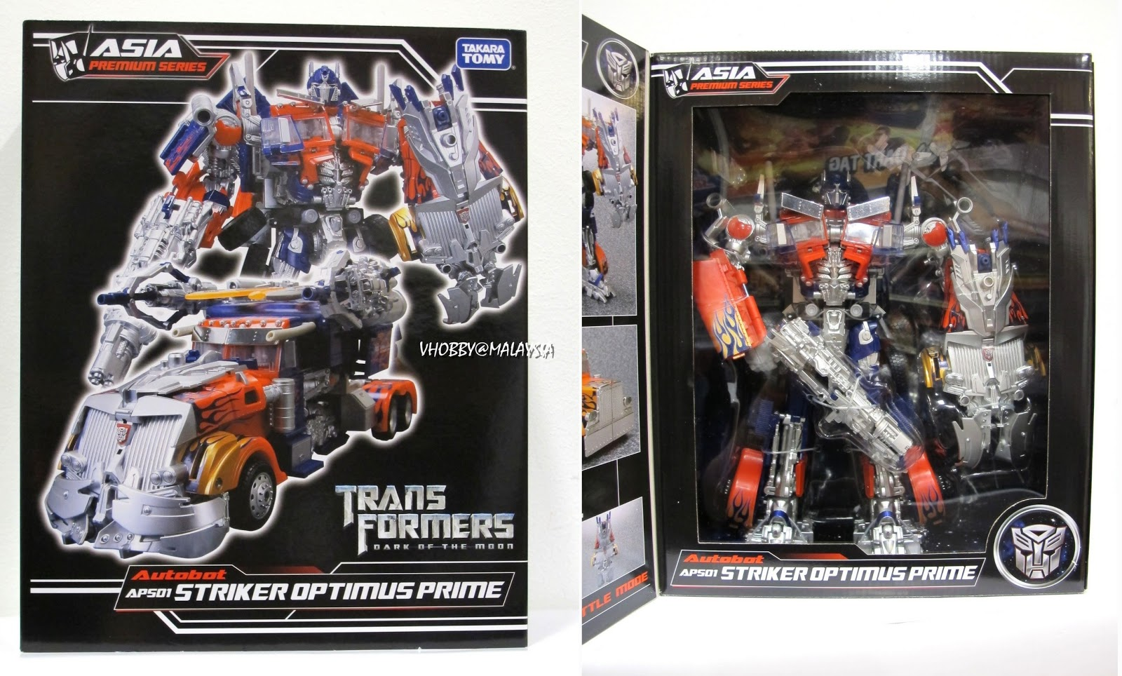 Takara Tomy Striker Optimus Prime Striker Optimus Prime