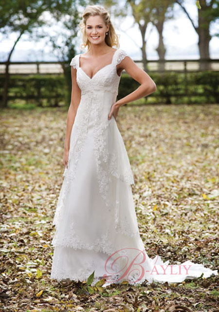 Michael Wedding Gowns US: Creative Outdoor Wedding Dresses ...