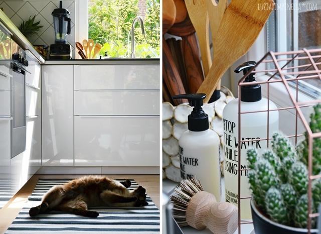 Kuche Schwarz Matt : ... selbstgebaute metod IKEA küche in schwarz ...