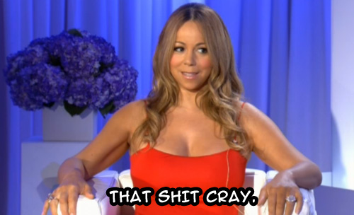 What Mariah thinks of The X-Factor US judge panel... | #thatshitcray