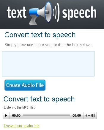 Text speak converter