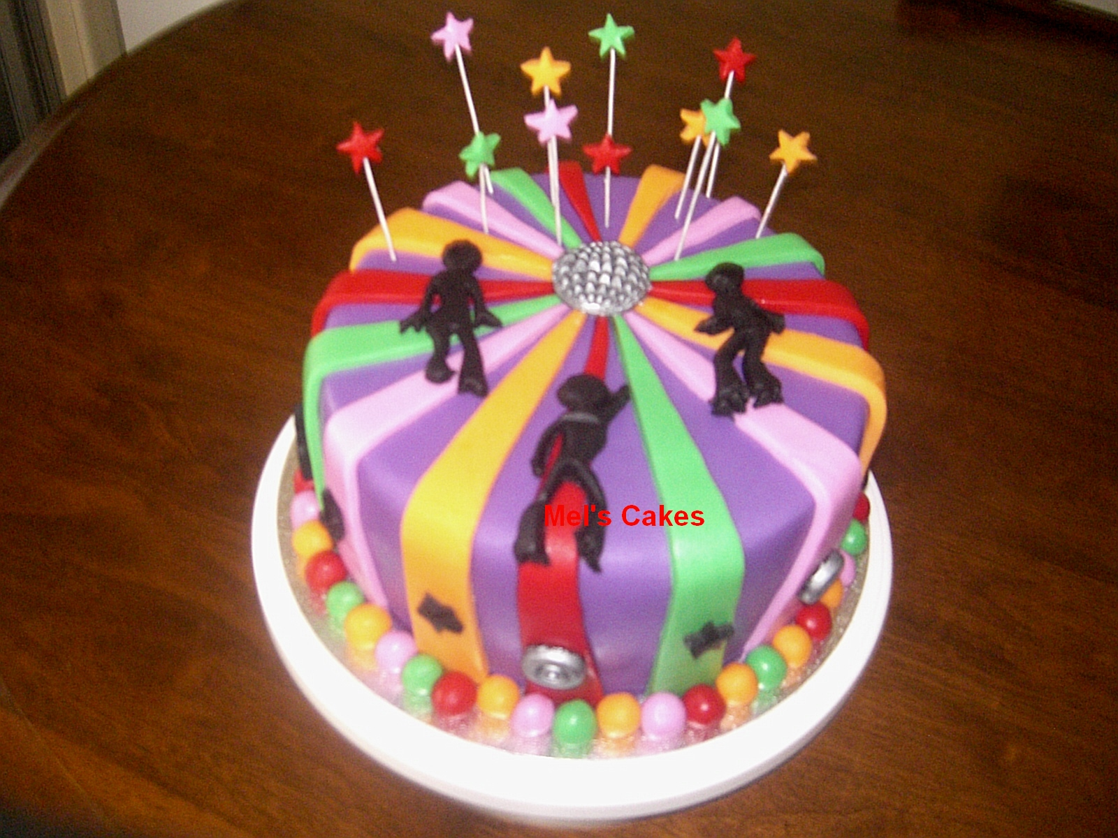 Welcome To Mels Cakes Disco Birthday Cakes