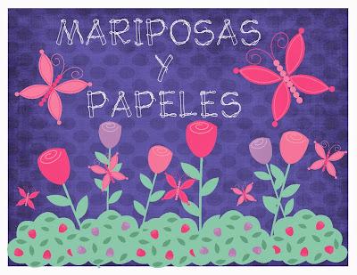 Mariposas y papeles