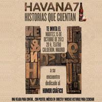 Havana 7 rinde homenaje a los viñetistas españoles